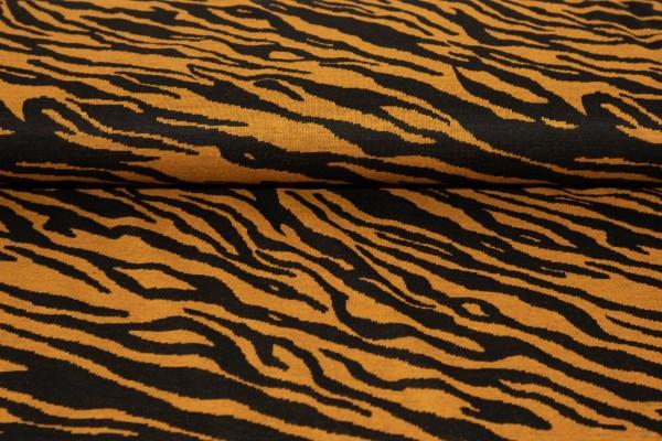 Jaquard Zebra Ocre/Schwarz