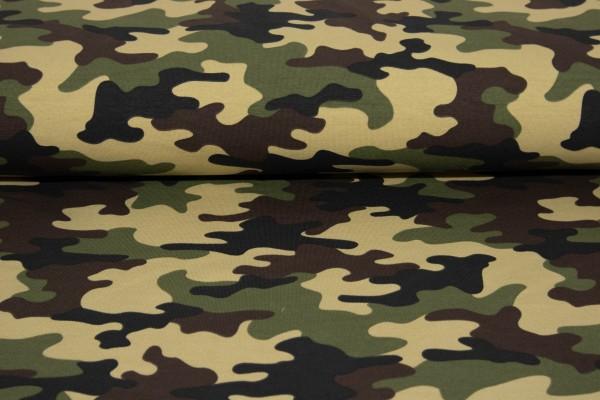 Sweat Wellnessweat Camouflage Kakhi