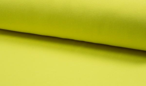 Bündchen Neon Rib Yellow