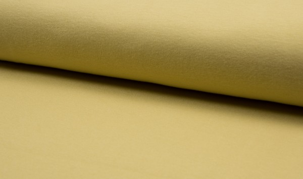 Bündchen glatt Dusty Yellow