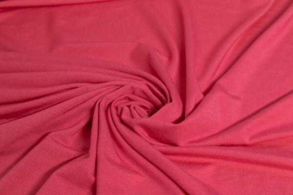 Viskose Jersey Uni Pink